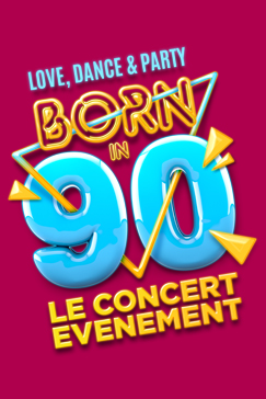 Découvrez les premiers noms des artistes présents sur la tournée de <strong>BORN IN 90</strong>