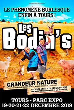 <strong>Les Bodin's</strong> - Grandeur Nature enfin à Tours !