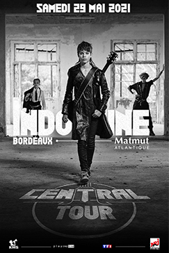 <strong>Indochine</strong> en concert le 29 Mai 2021 à Bordeaux