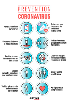 <strong>Prévention Coronavirus</strong> : Protocole Sanitaire